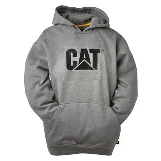 CAT Trademark Hoodie Dark Heather Gray