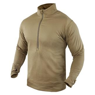 Condor Base II Zip Pullover Tan