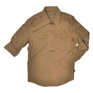 Hazard 4 Colonial Safari Stretch Patch Shirt Coyote