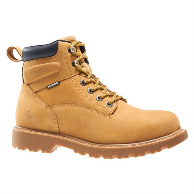 Wolverine Mens Shoe Floorhand soft toe Wheat 46 XUdrV