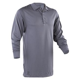 TRU-SPEC 24-7 Series Long Sleeve Performance Polo Steel Gray