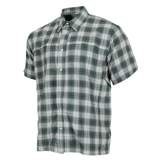 TRU-SPEC 24-7 Series Plaid Camp Shirt Gray Plaid