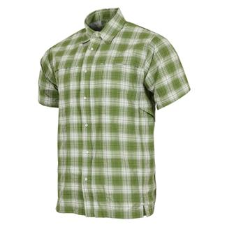 TRU-SPEC 24-7 Series Plaid Camp Shirt Green Plaid