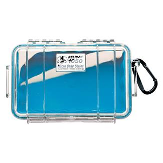 Pelican 1050 Micro Case Blue w/ Clear Lid