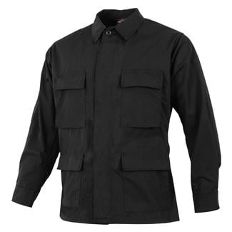 TRU-SPEC Poly / Cotton Ripstop BDU Coat Black