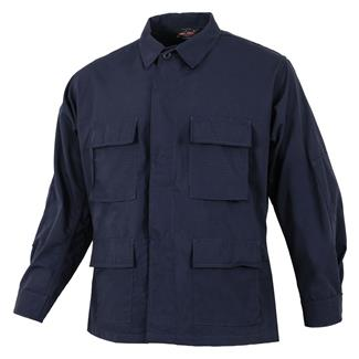 TRU-SPEC Poly / Cotton Ripstop BDU Coat Navy