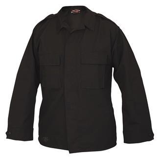 TRU-SPEC Poly / Cotton Ripstop Tactical Shirt Black
