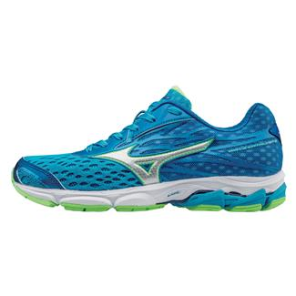 Mizuno Wave Catalyst 2 Atomic Blue / Green Gecko / White