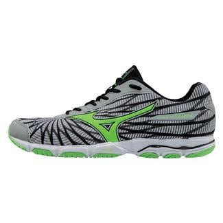 Mizuno Wave Hitogami 4 High Rise / Green Gecko / Dark Sha