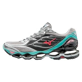 Mizuno Wave Prophecy 6 Silver / Turquoise / Diva Pink