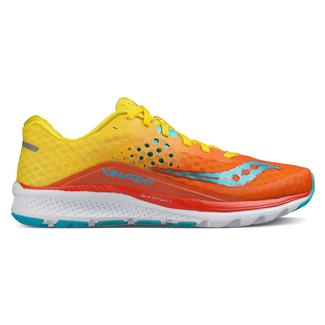 Saucony Kinvara 8 Orange / Yellow / Blue