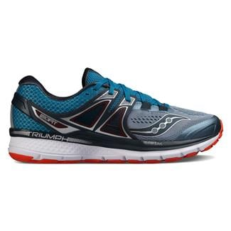 Saucony Triumph Iso 3 Gray / Blue / Red