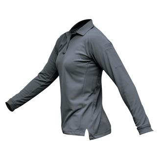 Vertx Coldblack Long Sleeve Polo Gray