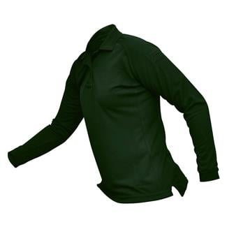 Vertx Coldblack Long Sleeve Polo Spruce Green