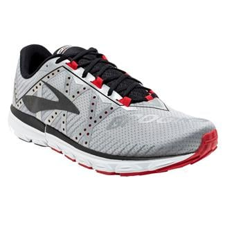 Brooks Neuro 2 Silver / Black / High Risk Red