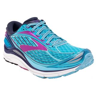Brooks Transcend 4 Bluefish / Peacoat / Purple Catus Flower