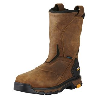 "Ariat 11"" Intrepid Pull-On H2O CT WP Rye Brown"