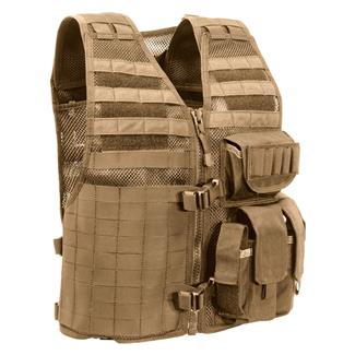 Elite Survival Systems Ammo Adapt Tactical Vest Coyote Tan