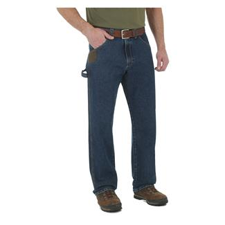 Wrangler Riggs Cool Vantage Carpenter Jeans Dark Stone