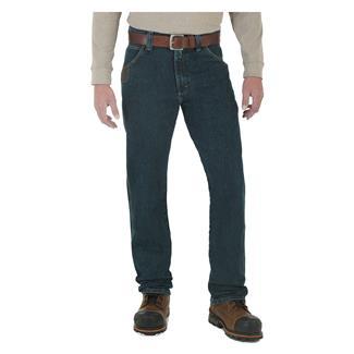 Wrangler Riggs Advanced Comfort Five Pocket Jeans Dark Tint