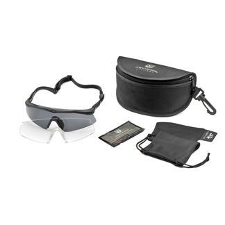 Revision Military Sawfly Military Kit Black (frame) - Clear / Solar (2 lenses)
