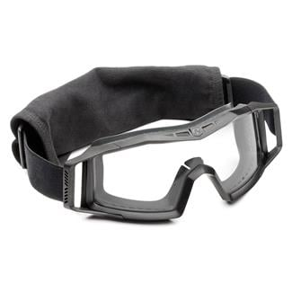 Revision Military Wolfspider Goggle Basic Kit Black (frame) - Clear (lens)