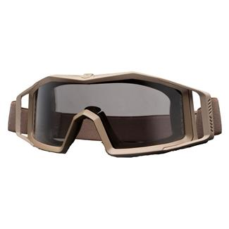 Revision Military Wolfspider Goggle Basic Kit Coyote Tan (frame) - Solar (lens)