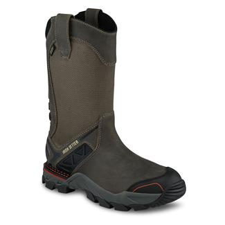 "Irish Setter 11"" Crosby Pull-On CT WP Black / Gray"