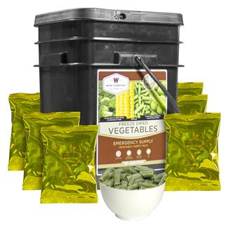 Wise Food Gluten Free Freeze-Dried Vegetables (160 Servings)