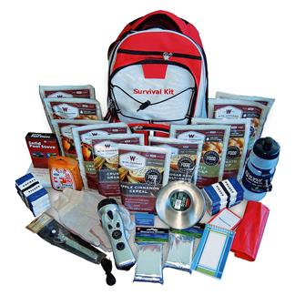 Wise Food 2 Week Essential Survival Backpack Red