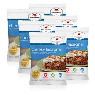 Wise Food Meal Pouches (Six Count) Cheesy Lasagna