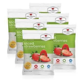 Wise Food Fruit Packs (Six Count) Strawberry Slices