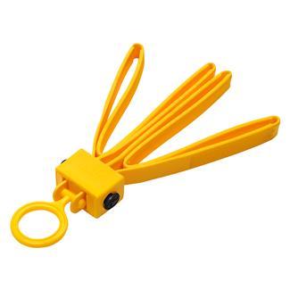 ASP Tri-Fold Restraints (6 Pack) Yellow