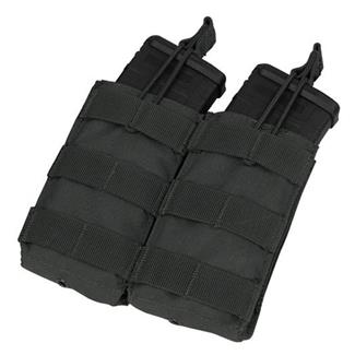 Condor Double M4 / M16 Open Top Mag Pouch Black
