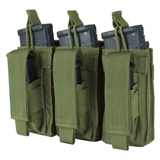 Condor Triple Kangaroo Mag Pouch Olive Drab