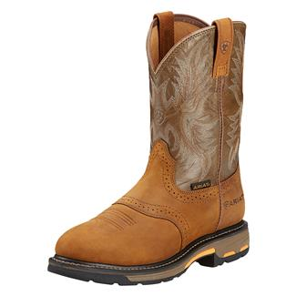 "Ariat 10"" Workhog Pull-On Aged Bark / Army Green"