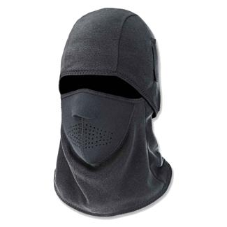 Ergodyne Two-Piece Fleece and Neoprene Balaclava Black