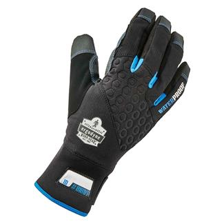 Ergodyne Performance Thermal Waterproof Utility Gloves Black