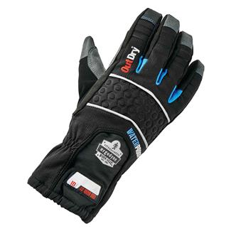 Ergodyne Extreme Thermal Waterproof Gloves with OutDry Black