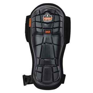 Ergodyne Extra Long Cap Injected Gel Knee Pad Black
