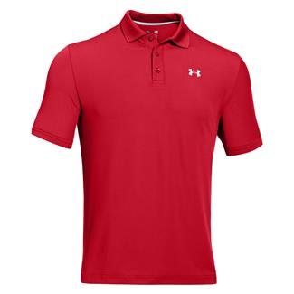Under Armour Performance Polo Red