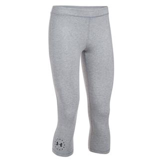Under Armour HeatGear Freedom Capris True Gray Heather / Black