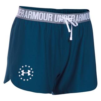 Under Armour HeatGear Freedom Shorts Blackout Navy / White