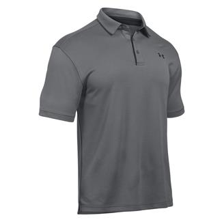 Under Armour Tech Polo Graphite