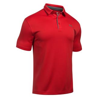 Under Armour Tech Polo Red