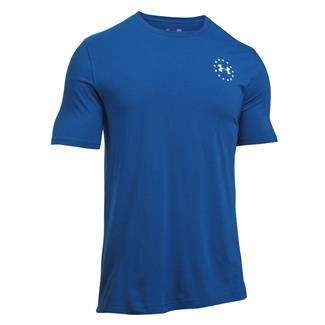 Under Armour Freedom Flag T-Shirt Royal / White