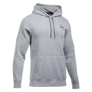Under Armour Freedom Flag Rival Hoodie True Gray Heather / Black