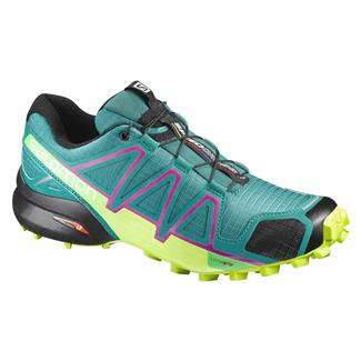 Salomon Speedcross 4 Deep Peacock Blue / Lime Punch / Grape Juice
