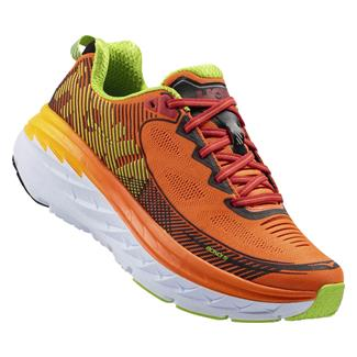 Hoka One One Bondi 5 Red Orange / Gold Fusion