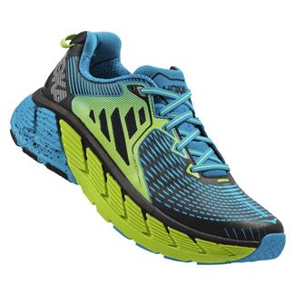 Hoka One One Gaviota Bright Green / Blue